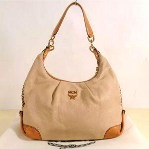 💖 MCM Leather Shoulder bag 🎒 💝